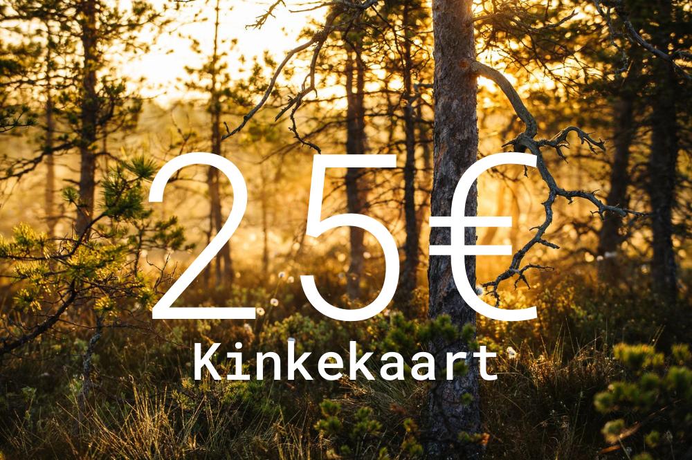 Kinkekaart 25€